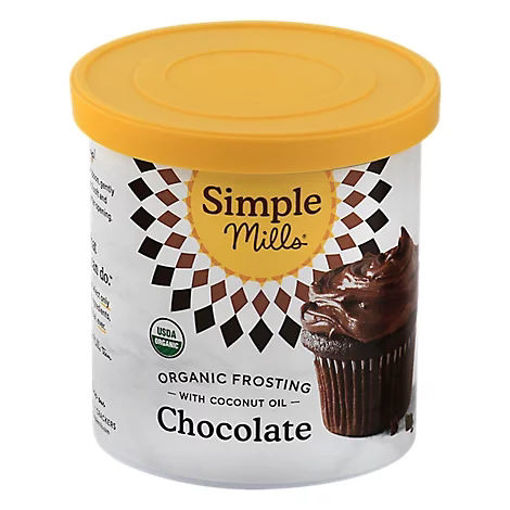 Picture of Simple Mills Organic Frosting Chocolate with Coconut Oil - 10 Oz