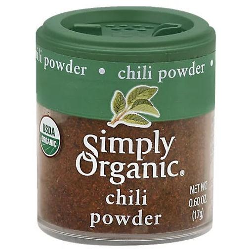 Picture of Simply Organic Chili Powder - 0.6 Oz