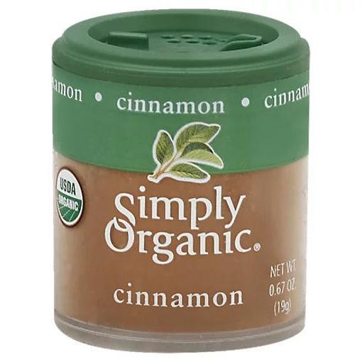 Picture of Simply Organic Cinnamon - 0.67 Oz