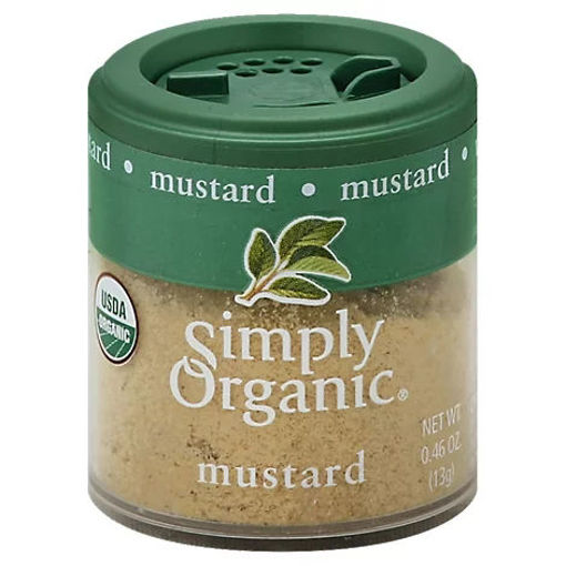 Picture of Simply Organic Mustard - 0.46 Oz