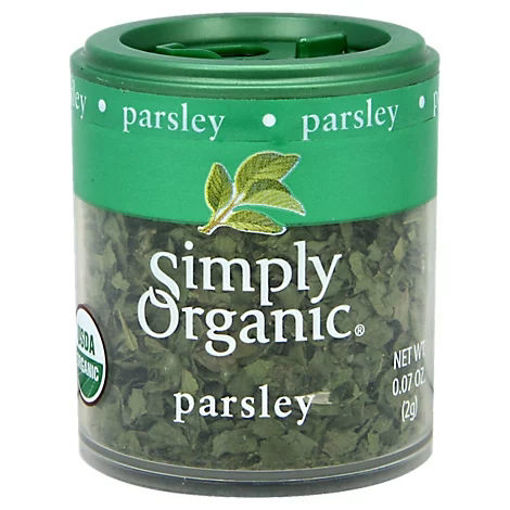 Picture of Simply Organic Parsley - 0.07 Oz