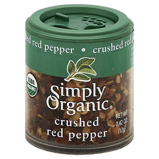 Picture of Simply Organic Red Pepper Crushed - 0.42 Oz
