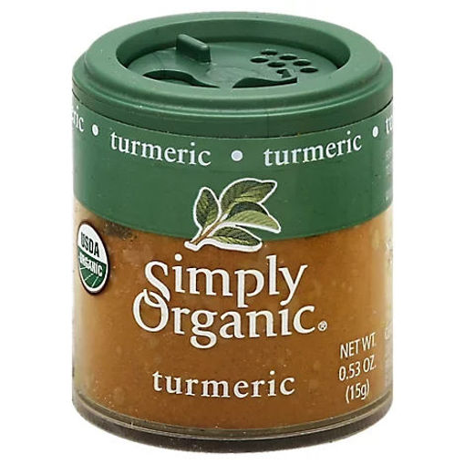 Picture of Simply Organic Turmeric - 0.53 Oz