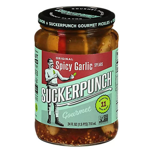 Picture of Sucker Punch Pickle Spear Organic - 24 Oz