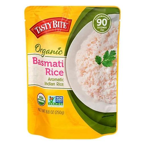 Picture of Tasty Bite Rice Organic Basmatic Bag - 8.8 Oz