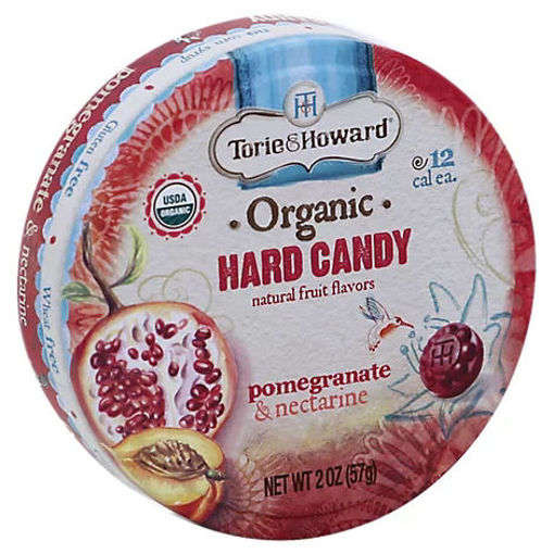 Picture of Torie & Howard Organic Candy Hard Pink Grapefruit & Tupelo Honey - 2 Oz