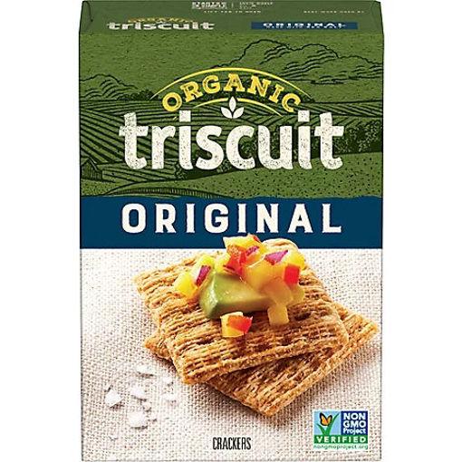 Picture of Triscuit Organic Crackers Original - 7 Oz