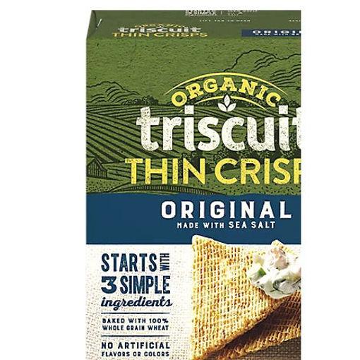 Picture of Triscuit Organic Crackers Thin Crisp Original - 6.5 Oz