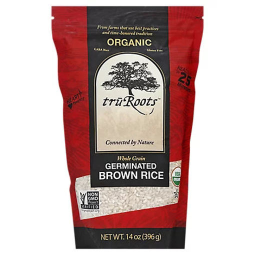 Picture of truRoots Organic Rice Brown Germinated Whole Grain - 14 Oz