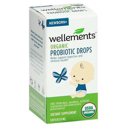 Picture of Wellements Probiotic Drops Organic - .25 Oz