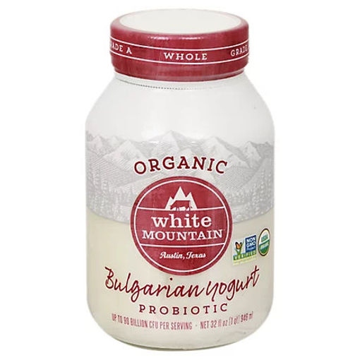 Picture of White Mountain Organic Premium Yogurt - 32 Oz
