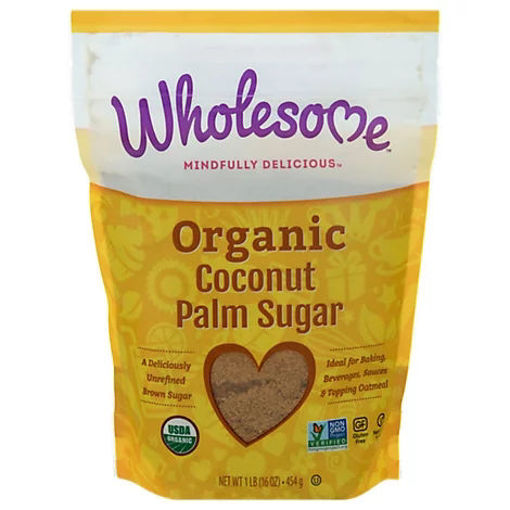 Picture of Wholesome Sweeteners Organic Coconut Palm Sugar - Lb