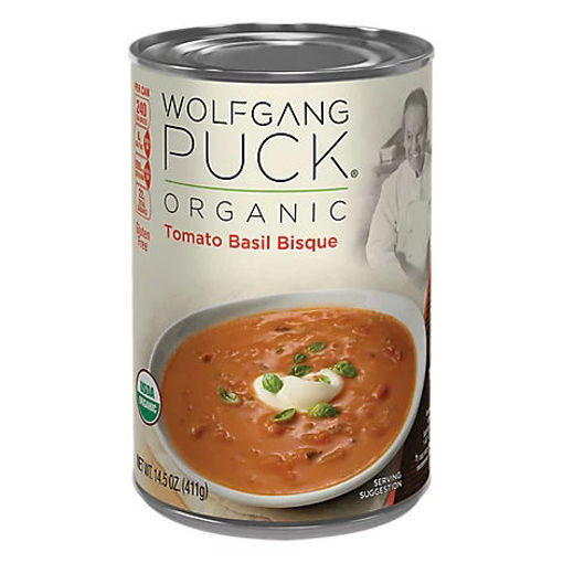 Picture of Wolfgang Puck Bisque Organic Tomato Basil - 14.5 Oz