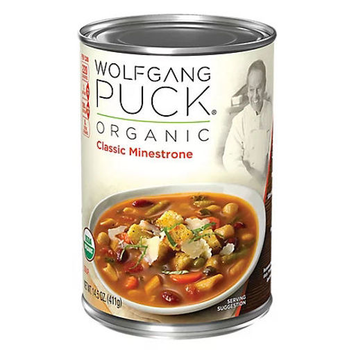 Picture of Wolfgang Puck Soup Organic Classic Minestrone - 14.5 Oz