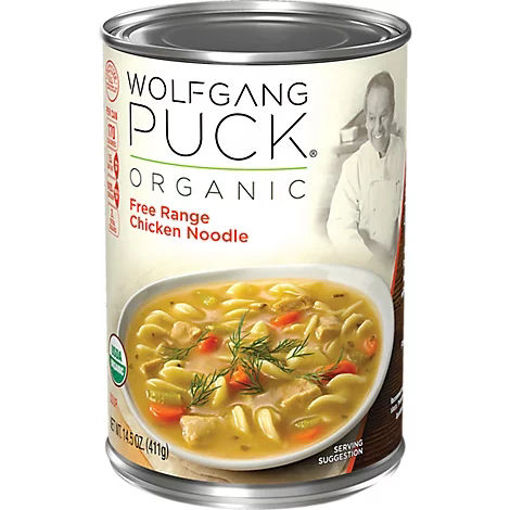 Picture of Wolfgang Puck Soup Organic Free Range Chicken Noodle - 14.5 Oz