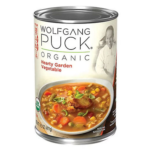 Picture of Wolfgang Puck Soup Organic Hearty Garden Vegetable - 14.5 Oz