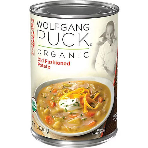Picture of Wolfgang Puck Soup Organic Old Fashioned Potato - 14.5 Oz