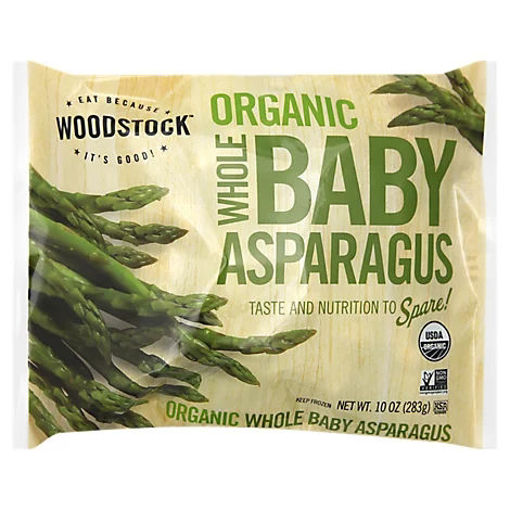 Picture of Woodstock Organic Baby Asparagus Whole - 10 Oz