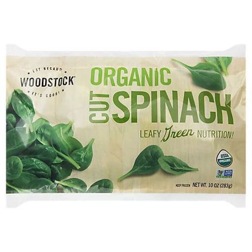 Picture of Woodstock Organic Spinach Cut - 10 Oz