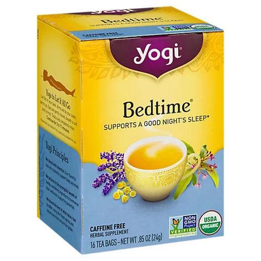 Picture of Yogi Herbal Supplement Tea Organic Bedtime 16 Count - 1.85 Oz