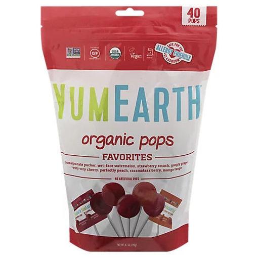 Picture of Yumearth Lollipop Pop Organic - 8.5 Oz